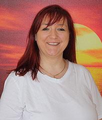 Physiotherapeutin Tanja Kaspers